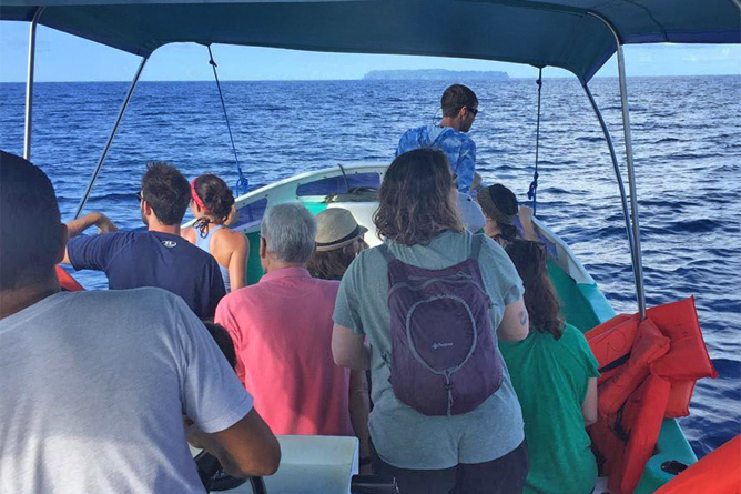 Isla Violin Bootsfahrt zur Insel Caño