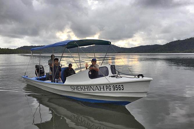 Isla Violin Bootstour zur Insel Caño