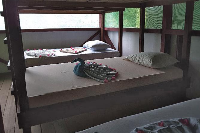 La Tarde Tent Cabin Einzelbetten