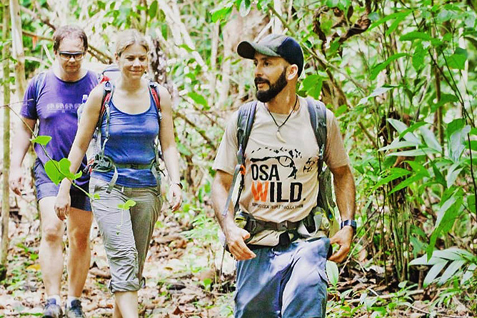 Osa Wild Nationalpark-Corcovado Los Patos Trail
