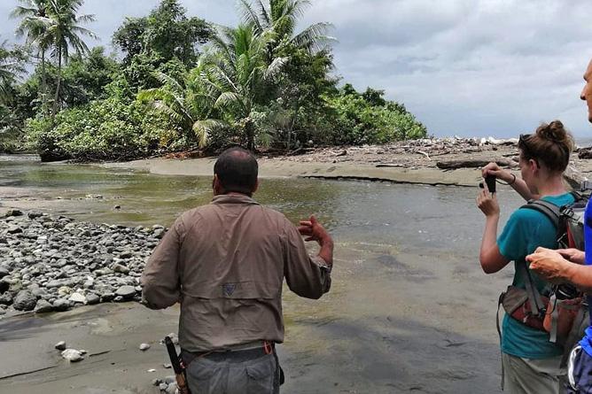 Osa Wild Nationalpark-Corcovado Sirena Flussmündung