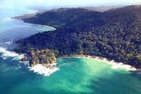 Osa Wild Nationalpark-Corcovado Sirena-Trail Luftaufnahme