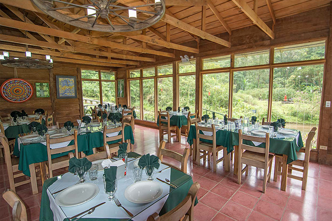 Restaurante Bosque de Paz
