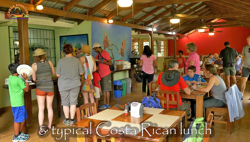 Canoa Tours Caño Negro Touren Restaurant El Caiman