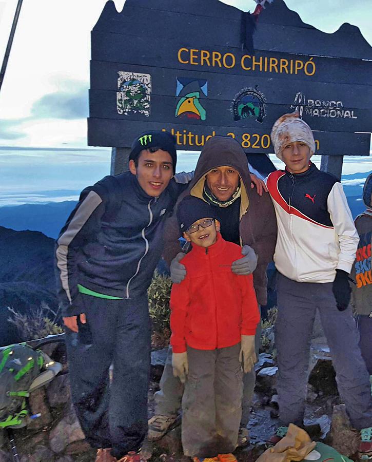 El Pelicano Chirripo Gipfel