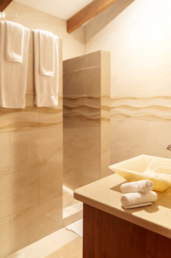 Aguti Hotel – Badezimmer