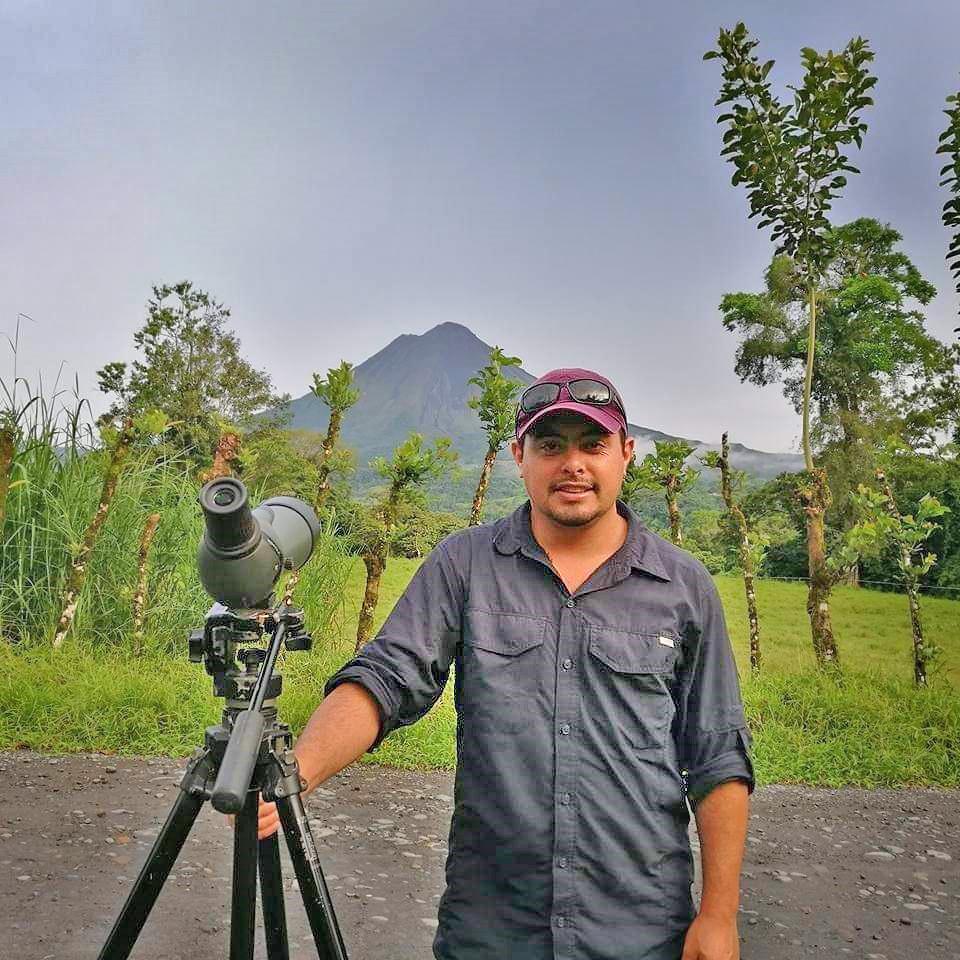 Freicer – Guide in Monteverde, hier: Vulkan Arenal