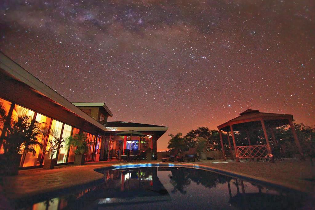 Rancho Humo Estancia – Haupthaus mit Pool
