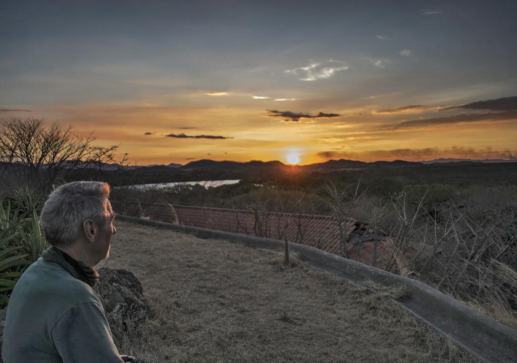 Rancho Humo Estancia – Sonnenuntergang