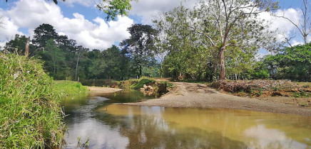 Goldmine Rancho Quemado - Fluss
