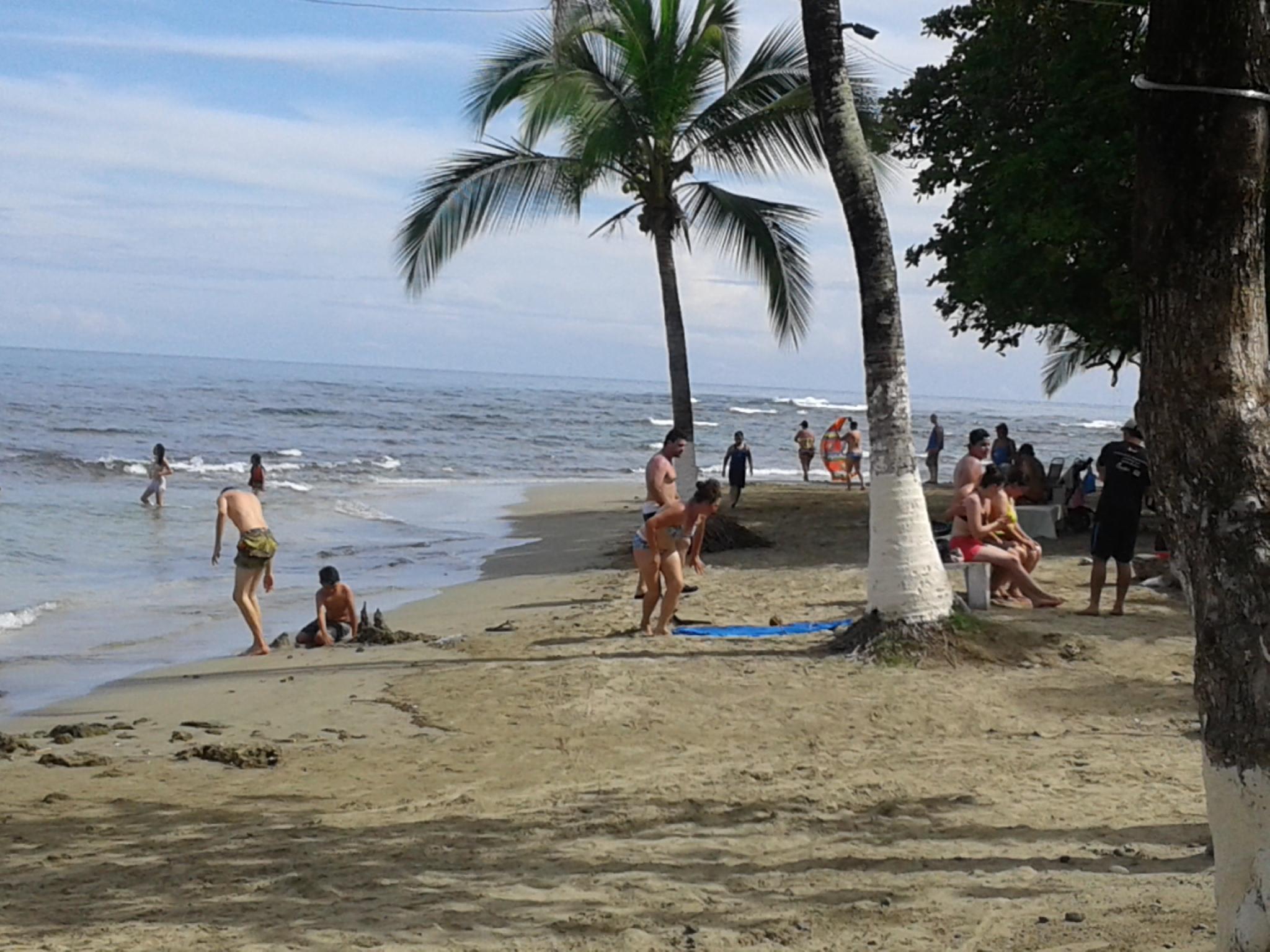 Badestrand Puerto Viejo – Karibik (Costa Rica)