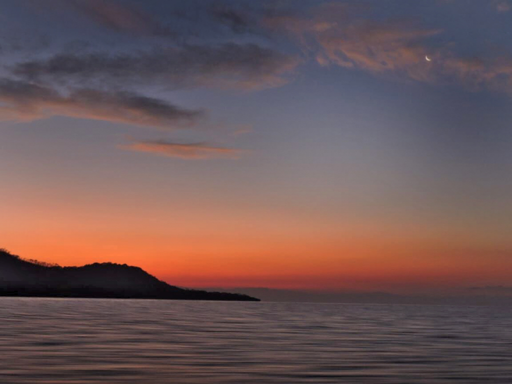 Insel Chira Sonnenuntergang Maro Tours 4-2019