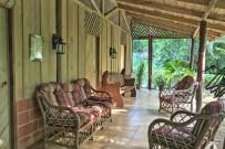 El Zota Lodge - Terrasse