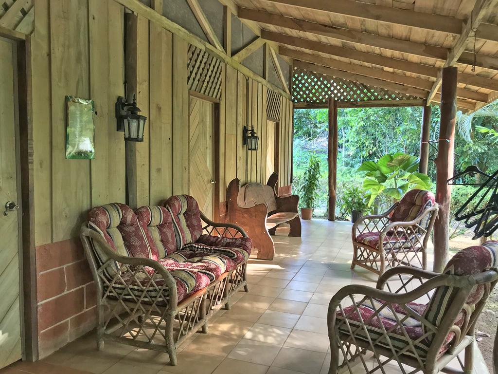 El Zota Lodge – Terrasse