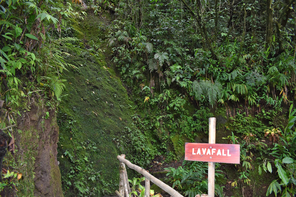 Guayabo Lodge – Lavafluss Vulkan Turrialba