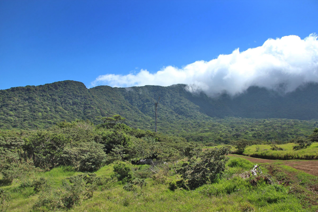Vulkan Cacao – Aufstieg zum Krater