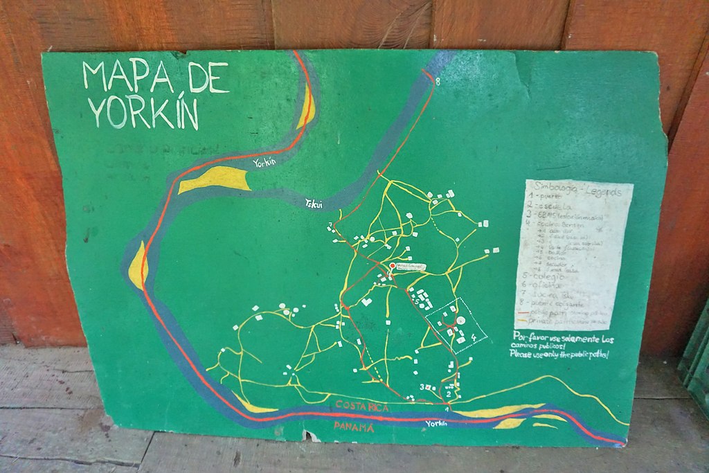 Yorkin Tour – Karte ATEC