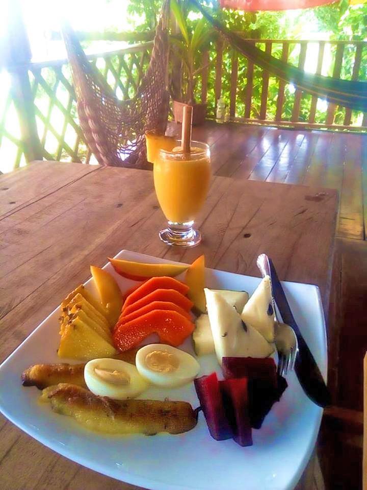Tapir Lodge – Frühstück