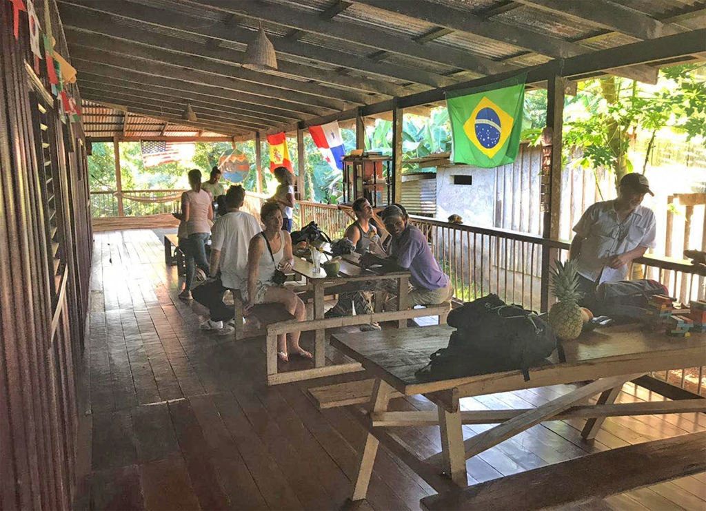 Tapir Lodge – Restaurant