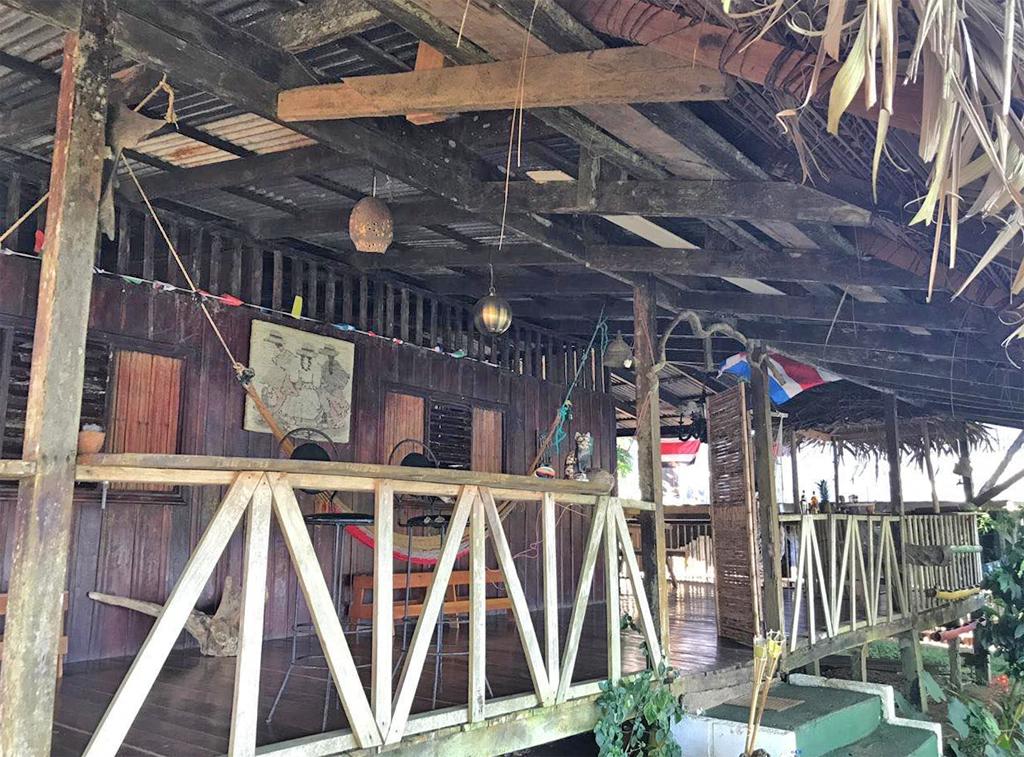 Tapir Lodge – Terrasse