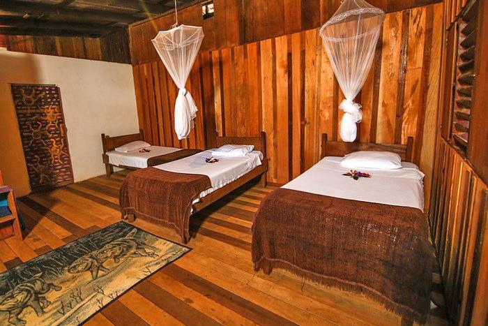 Tapir Lodge – rustikale Zimmer