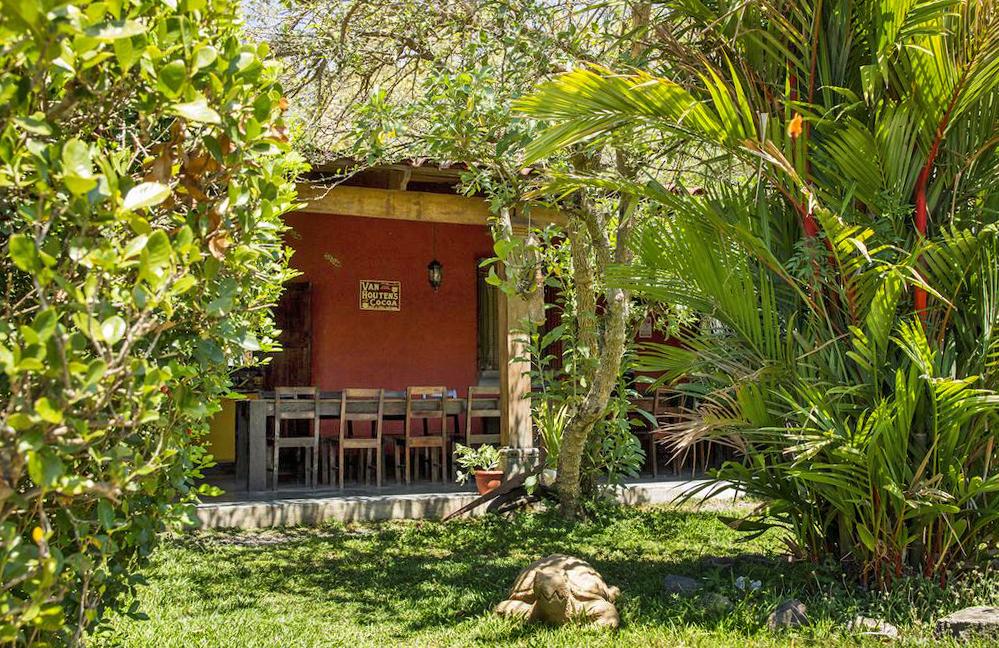 Aroma de Campo Restaurant mit Garten