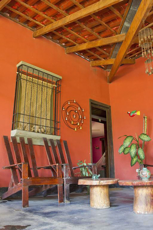 Aroma de Campo Standard Zimmer Terrasse