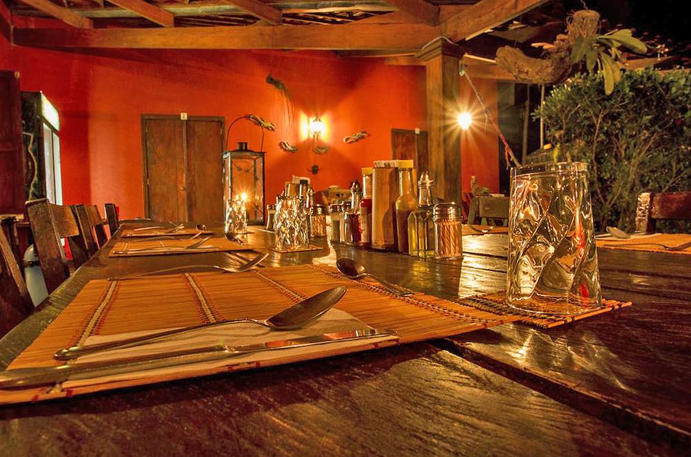 Aroma de Campo Restaurant Abendstimmung