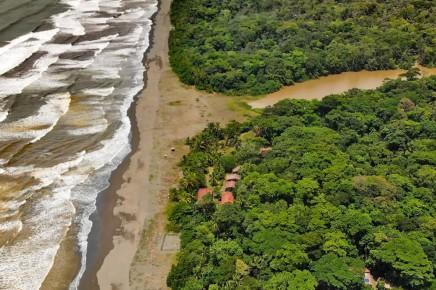 Pacuare Reserve - Location - Luftbild
