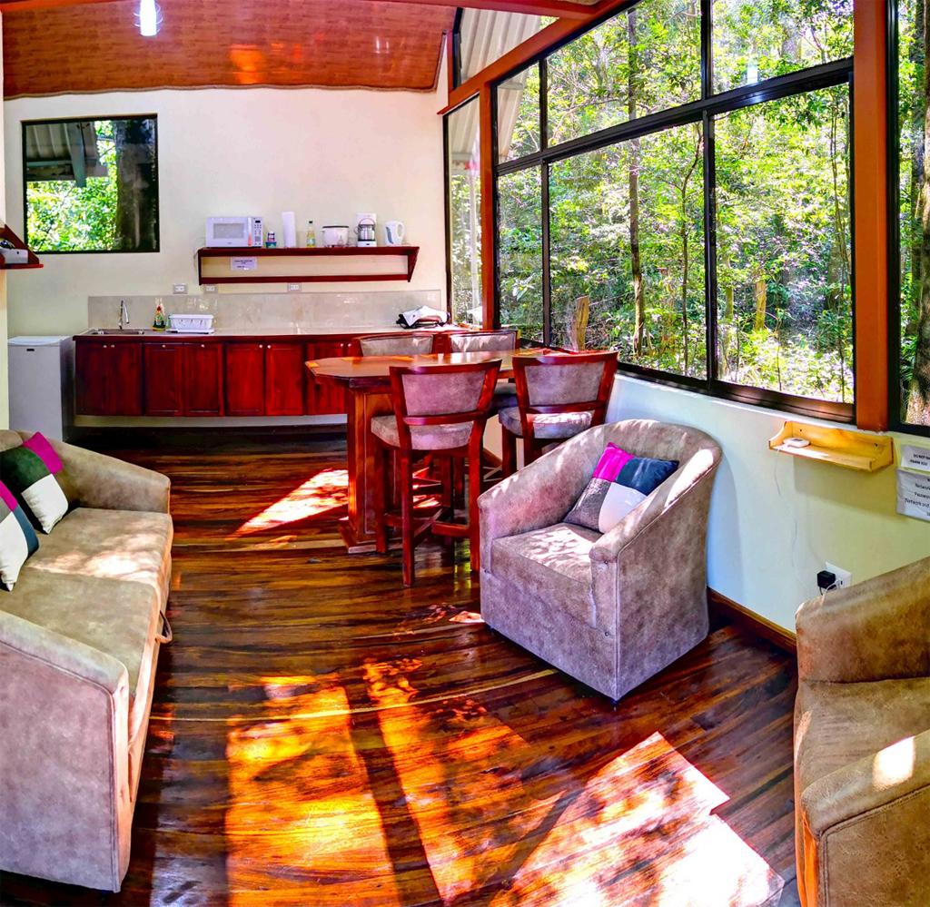 Quality Cabins – Aufenthaltsbereich