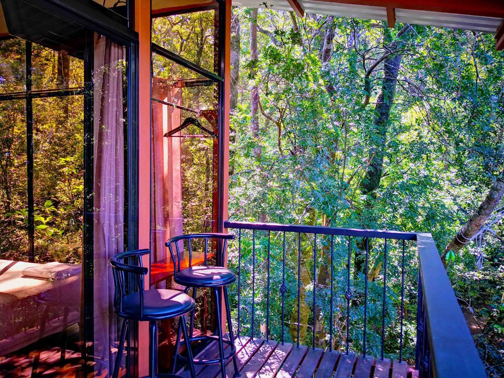 Quality Cabins – Balkon