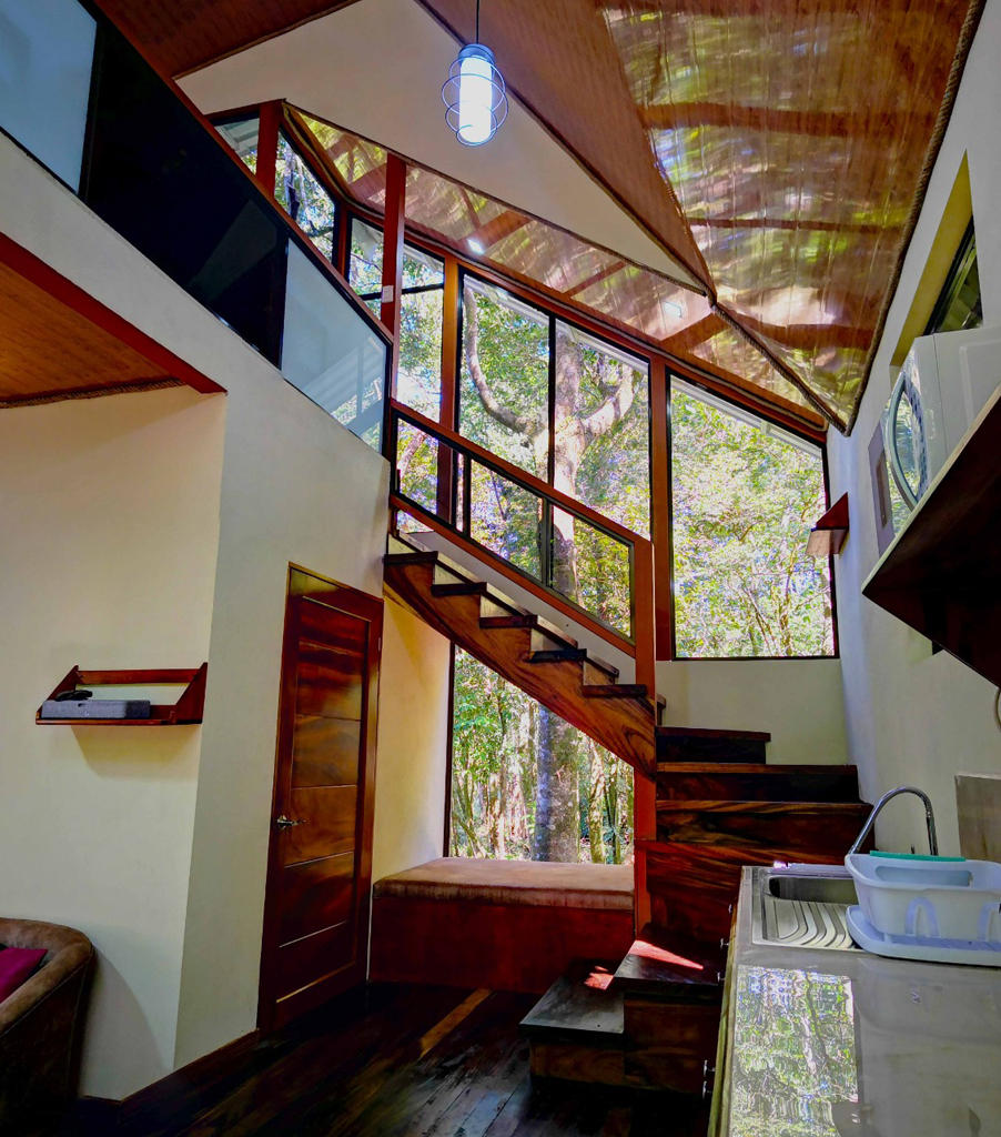 Quality Cabins – Treppe