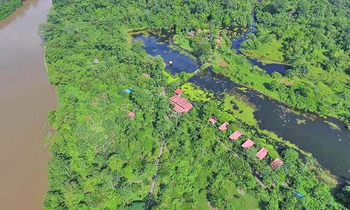 Maquenque Lodge – Luftaufnahme